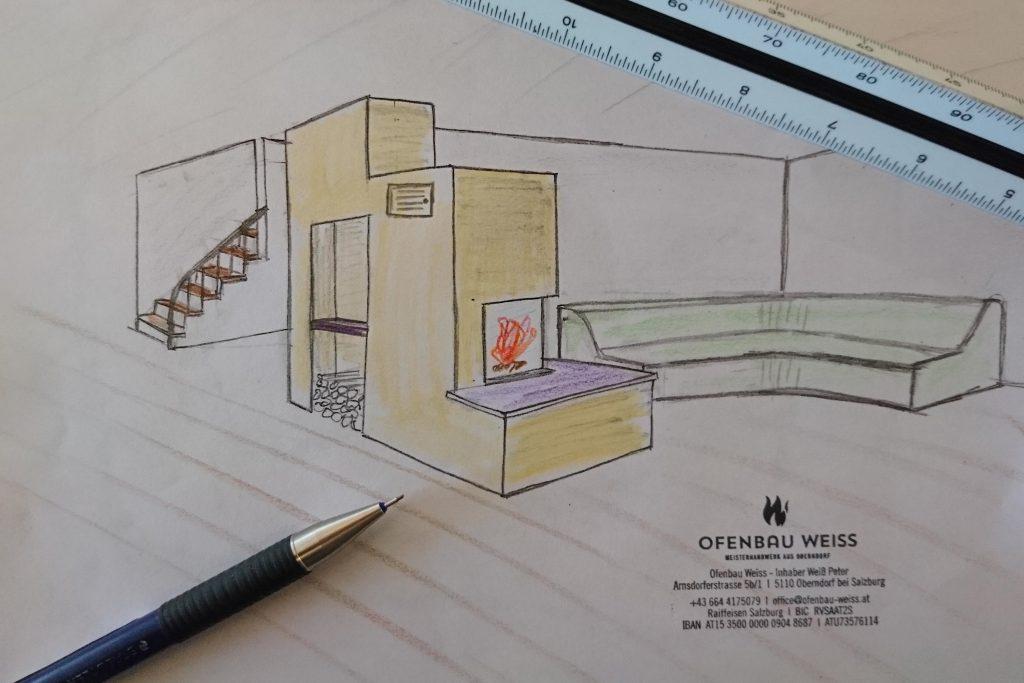 Planung Ofenbau Weiss Oberndorf